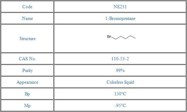 1-Bromopentane(110-53-2)