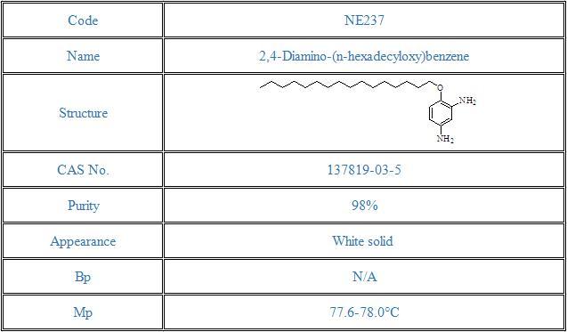 2,4-Diamino-(n-hexadecyloxy)benzene(137819-03-5)