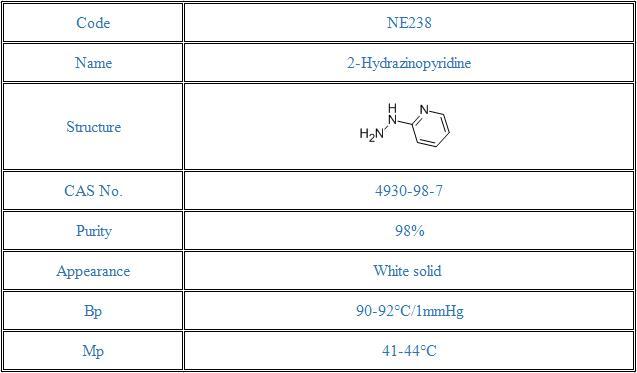 2-Hydrazinopyridine(4930-98-7)