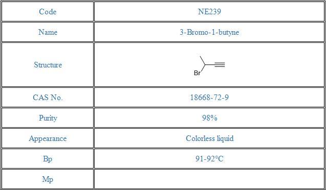 3-Bromo-1-butyne(18668-72-9)
