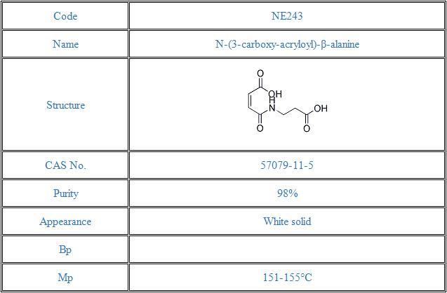 N-(3-carboxy-acryloyl)-β-alanine(57079-11-5)