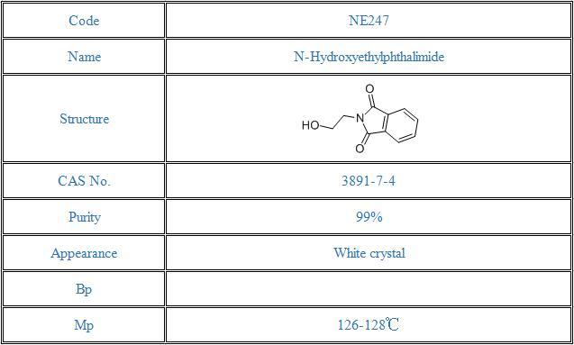 N-Hydroxyethylphthalimide(3891-07-4)