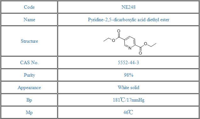 Pyridine-2,5-dicarboxylic acid diethyl ester(5552-44-3)