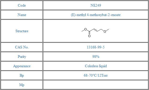 (E)-methyl 4-methoxybut-2-enoate(13168-99-5)