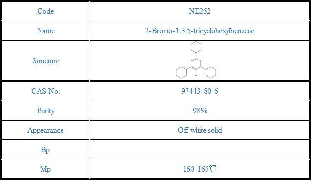 2-Bromo-1,3,5-tricyclohexylbenzene(97443-80-6)