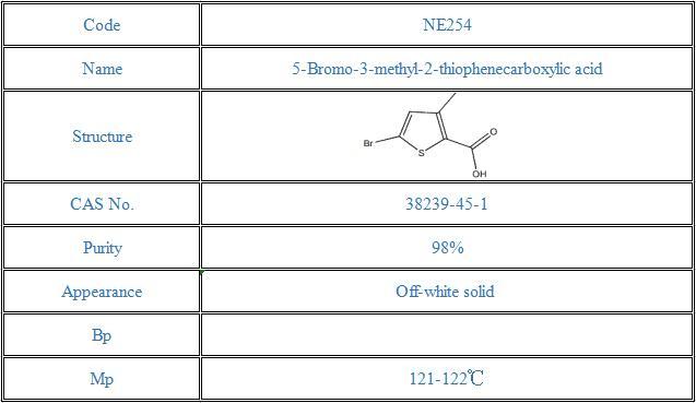 5-Bromo-3-methyl-2-thiophenecarboxylic acid(38239-45-1)