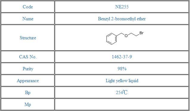 Benzyl 2-bromoethyl ether(1462-37-9)