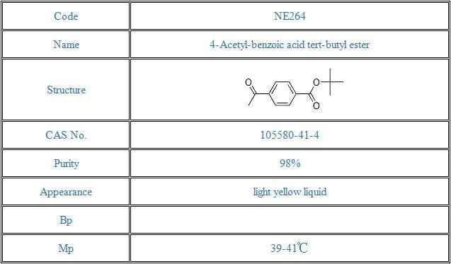 4-Acetyl-benzoic acid tert-butyl ester(105580-41-4)