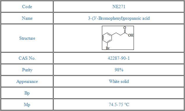 3-(3'-Bromophenyl)propanoic acid(42287-90-1)