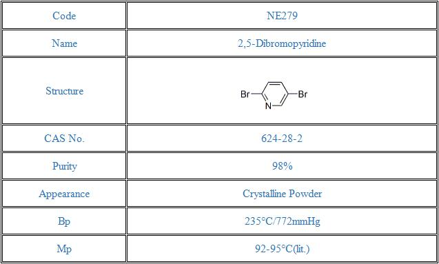 2,5-Dibromopyridine(624-28-2)